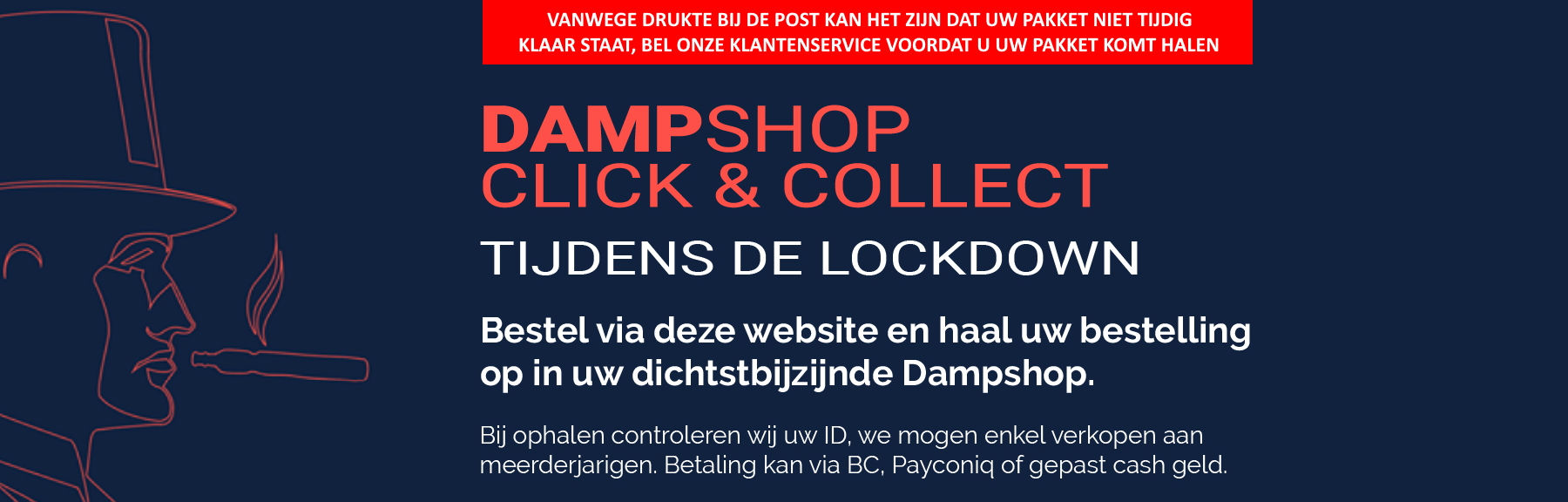 Dampshop banner